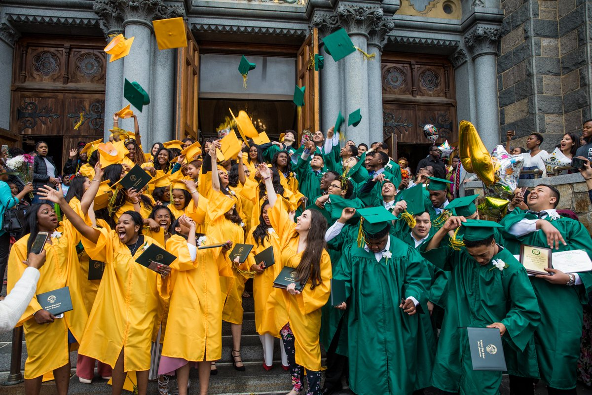 test Twitter Media - Congratulations to the graduating class of 2018 at Cathedral High School who held their 87th Commencement Exercises this past weekend at @BostonsBasilica! Cathedral's Father Rector Kevin O'Leary gave the benediction to the new graduates. https://t.co/aAfsFcPl8T