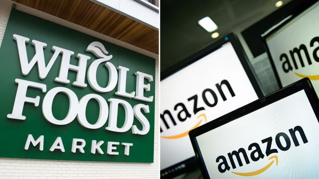 Amazon lowering prices at Whole Foods for Prime members: https://t.co/Yo9mJSzmFs https://t.co/46D50UfUxt