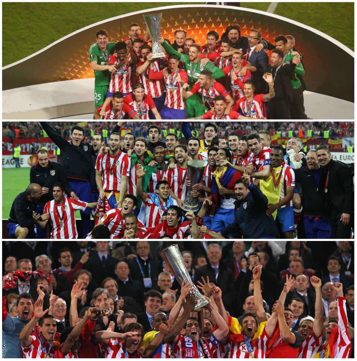 THREE-time champions!  �� 2010 �� 2012 �� 2018  #UELfinal https://t.co/pQpGsWFhPV