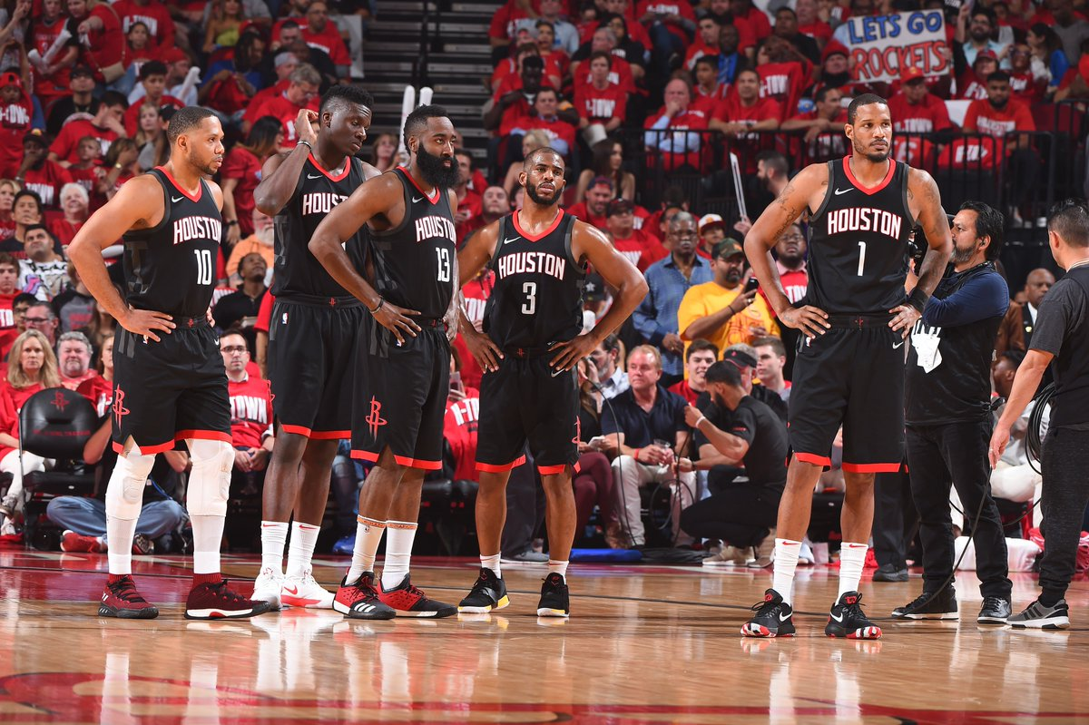 The @HoustonRockets have the best Offensive Rating (110.3) in this years #NBAPlayoffs.   on.nba.com/2JNg4k3