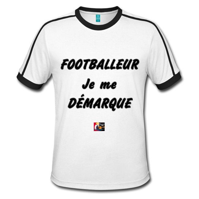 FOOTBALLEUR, JE ME DÉMARQUE, cadeau à offrir ici : https://shop.spreadshirt.fr/jeux-de-mots-francois-ville/128978698?q=I128978698#OMAtletico #Ocampos #Zambo #OMATH #Griezmann #Payet #BounaSarr #ValèreGermain #OMATL #GroupamaStadium #foot #football #punchline #parodie #slogan #humour #citation #jeuxdemots #tshirt #proverbe  - FestivalFocus