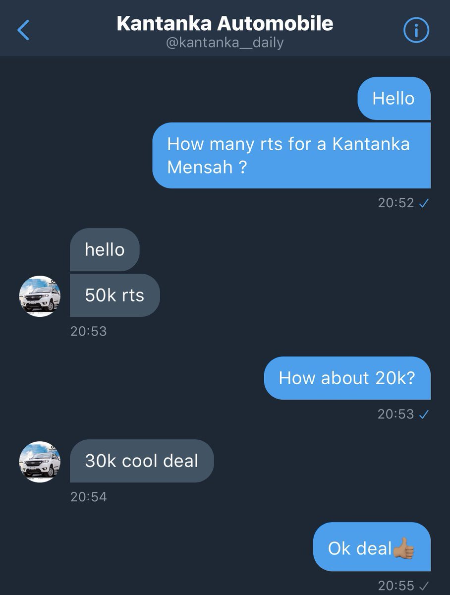 Hello guys this is my first time asking for your support I'm really tired of walking our very own @kantanka__daily #kantankaautomobile has offered to help with a #kantankamensah for 30k rts.God bless you for your rt🙏🏽