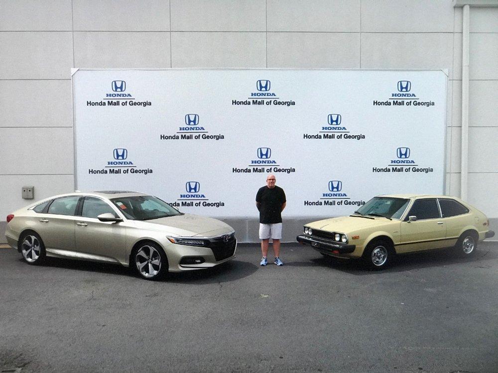 Our Experienced Service Department Helped Him Restore It Back To Its  Original Condition! Side By Side With A 2018 Honda #Accord, Look At The  Difference ...
