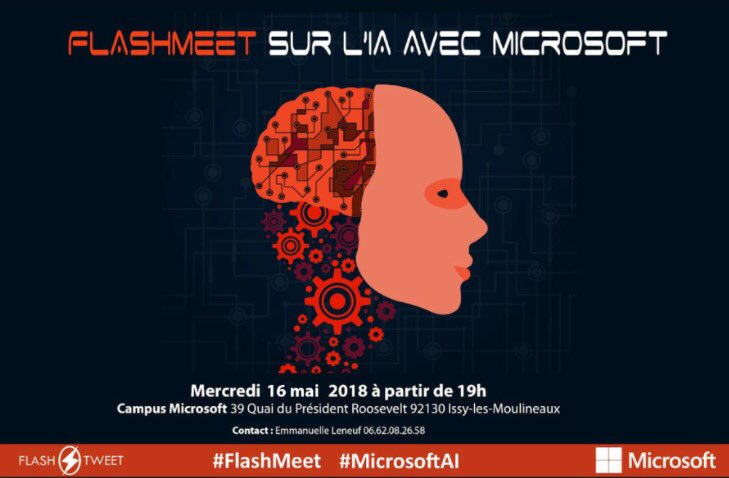 Big thank you à @FlashTweet et @microsoftfrance pour ce #FlashMeet consacré à l\