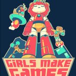 I made two t-shirt designs for the amazing @LailaShabir and @GirlsMakeGames. Proceeds support GMG's summer camps and workshops worldwide! Girls can do anything  Check them out: https://t.co/C8bwnshgA7  #gamedev