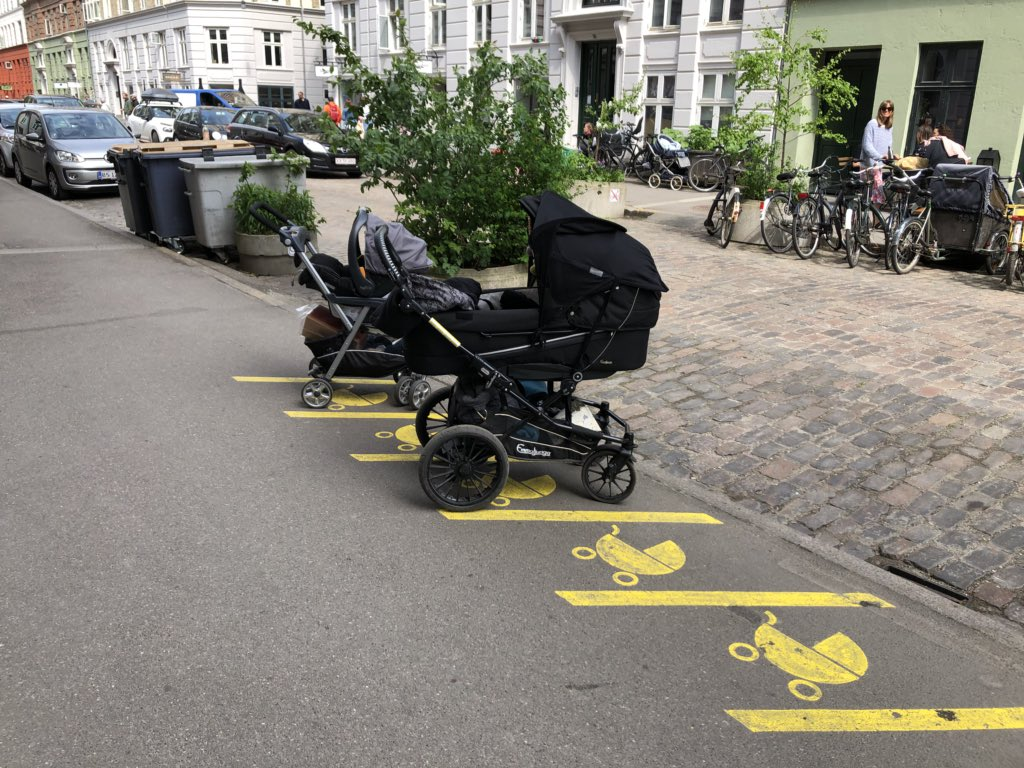 O: bi' şehir bebekler için ne kadar iyi olabilir ki Kopenhag: