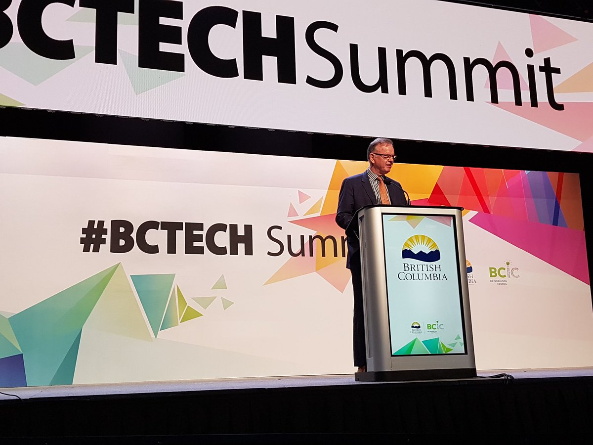 Today @jjhorgan announced investments in education, infrastructure &amp; programs to train &amp; develop tech talent, support research &amp; innovation and build a diverse, sustainable economy that makes BC the envy of the world. #BCtech is the heart of this vision.  https:// bit.ly/2L6aEC9  &nbsp;  <br>http://pic.twitter.com/UTtwxaclfB