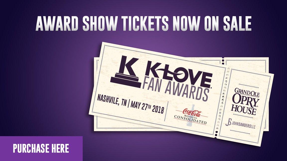 K-LOVE Fan Awards on Twitter: \