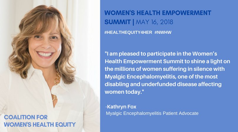 We are proud to join our friend Kathryn Fox at the 2018 Women's Health Equity Conference in Washington DC #HealthEquity4her #NWHW #SolveMECFS<br>http://pic.twitter.com/uPXO97s4m3