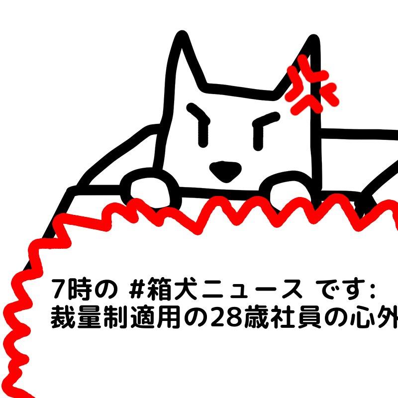 箱犬bot's photo on 裁量制適用の28歳社員