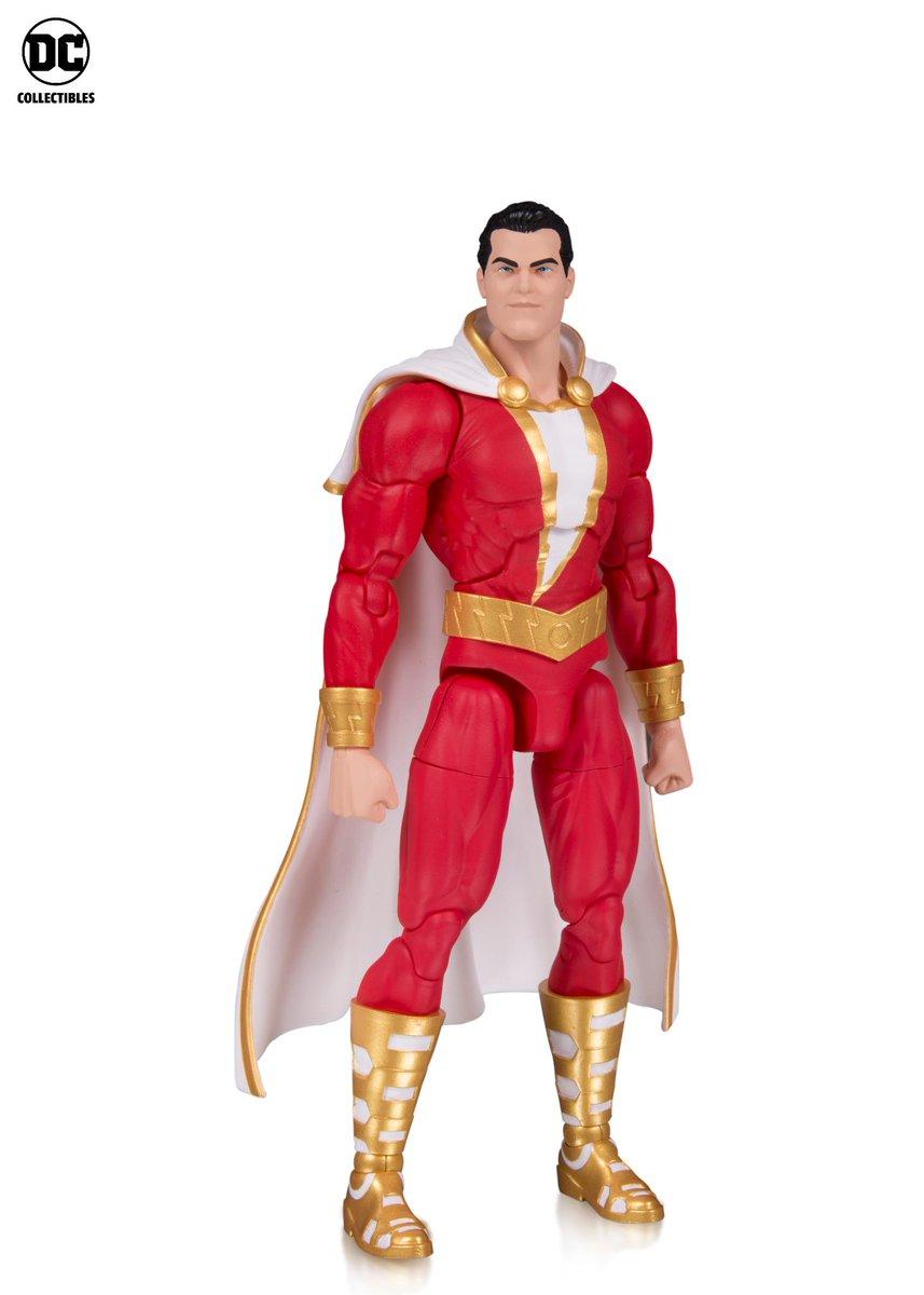 DC Essentials Shazam /& Black Adam Action Figure 2-Pack