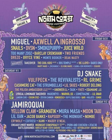 .@northcoastfest. 8/31.