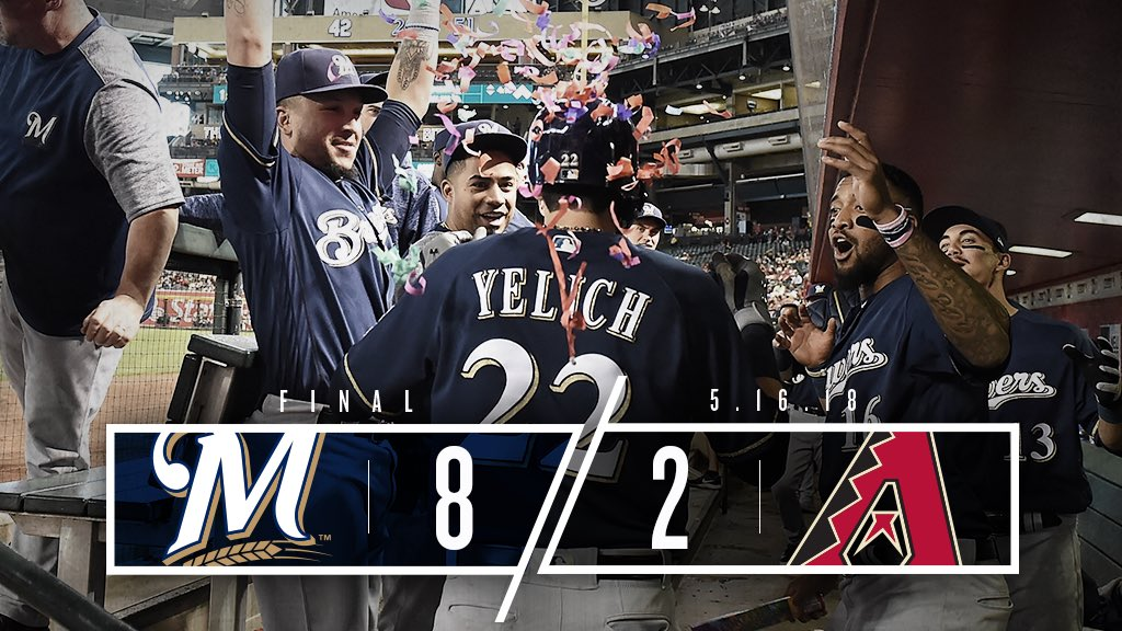 Colorado ✅ Arizona ✅  Let's keep racking up those series Ws!   RECAP: https://t.co/bSrFZAFTP2 https://t.co/pAXG46DTfd