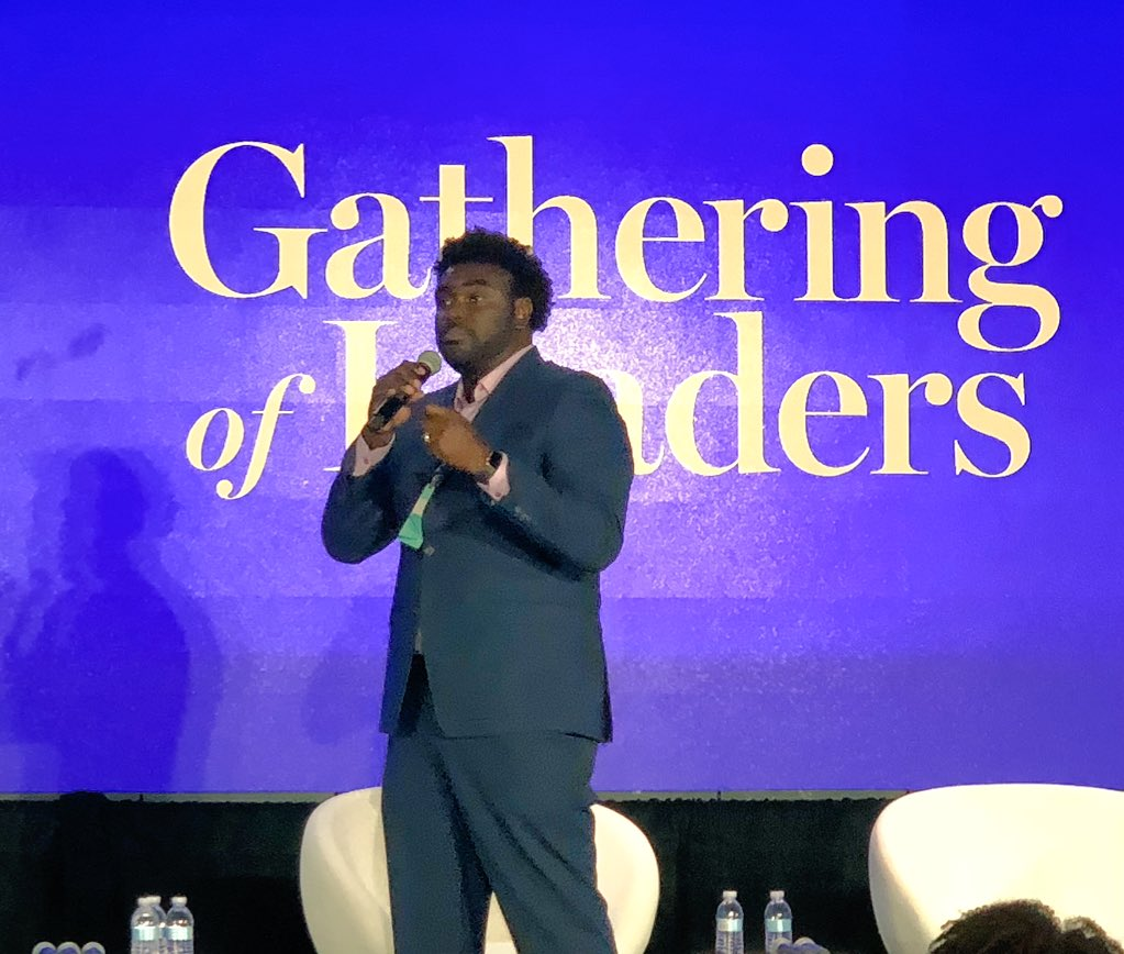 """Marcus Bullock of @flikshop: """"This is what life after prison can look like."""" #unlockedfutures #NPGoL <br>http://pic.twitter.com/328JHQkbC8"""