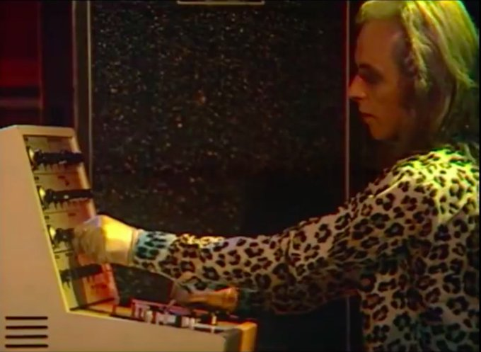 Happy 70th Birthday Brian Eno (I\m late by one day). You\ll always seem like this to me