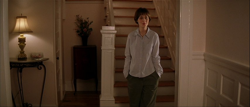 I think a lot about Zooey Deschanel's haircut at the end of All The Real Girls.