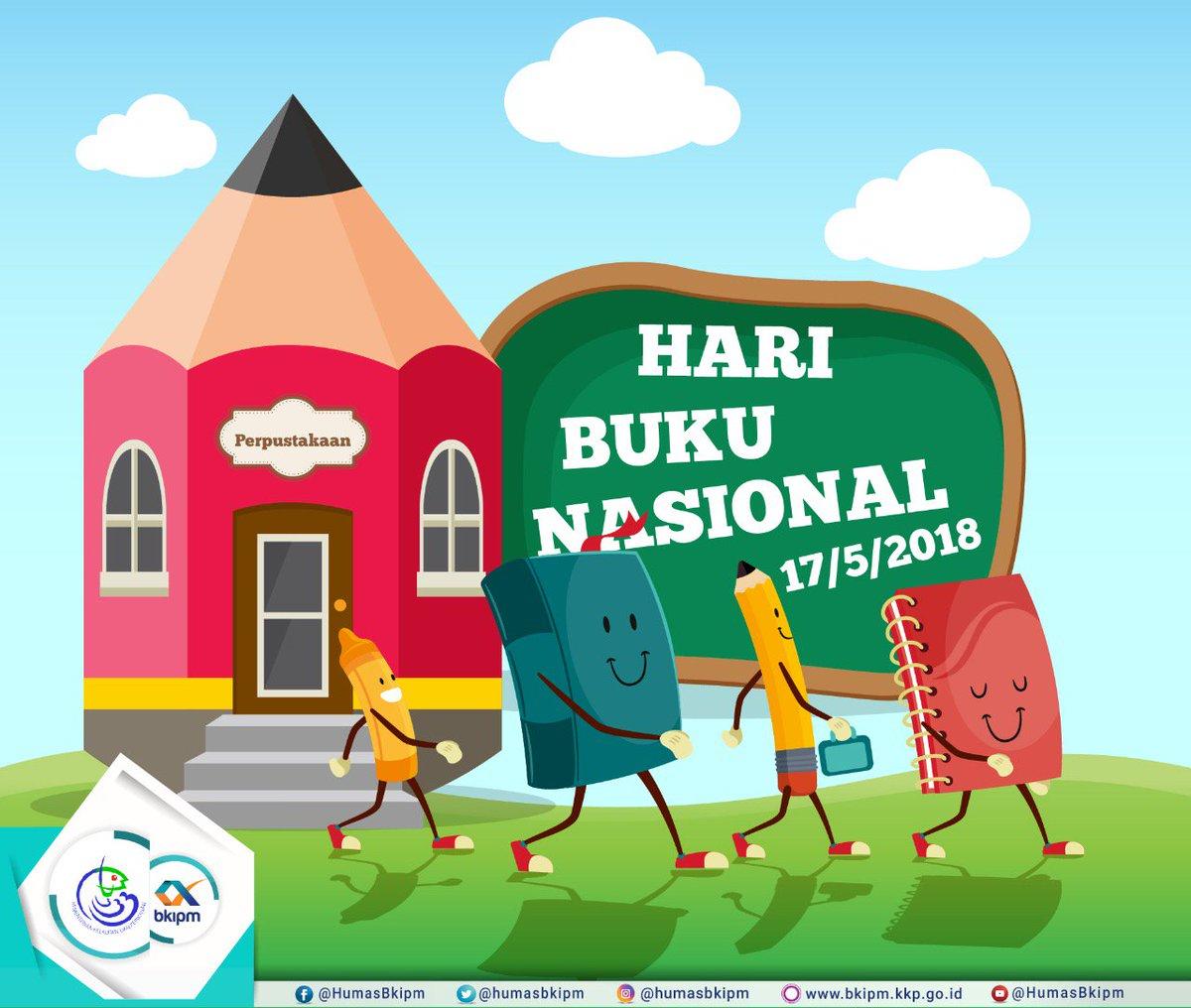 Bkipm V Twitter Selamat Hari Buku Nasional Sahabat Bahari
