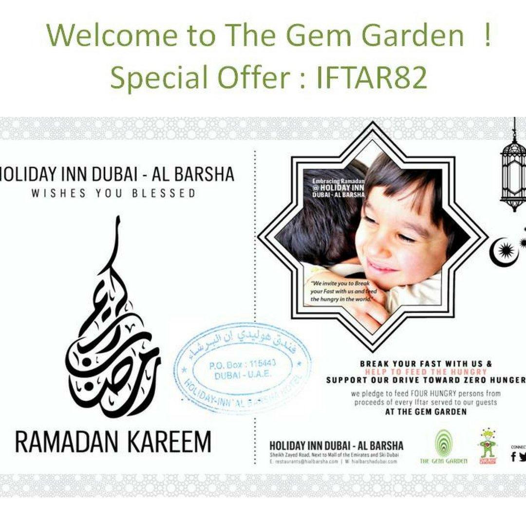 Iftar Option in Dubai ... Chk this deal... HOLIDAY INN, AL BARSHA, DUBAI @HolidayInnDubai #Dubai #RamadanKareem