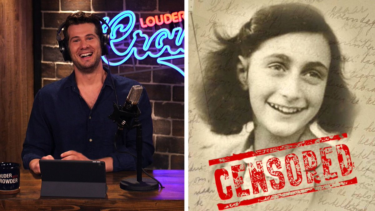 ... Anne Frank had hidden pages in her journal filled with dirty jokes!  #LwC #MugClub Watch now==> https://youtu.be/E-__ZFw57Eo  pic.twitter.com/Rrs0GAg68A