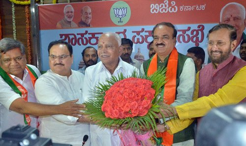 BJP seeks to win over rivals' Lingayat MLAs to form govt https://t.co/HKqNJN63rr https://t.co/LFTUOFQh3P