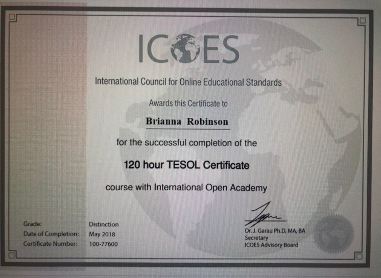 Tesolcertification Hashtag On Twitter