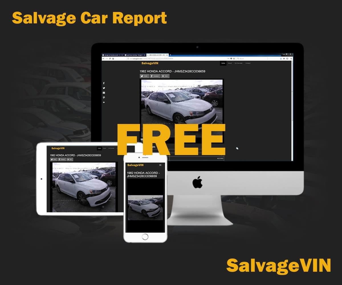 SalvageVIN on Twitter:
