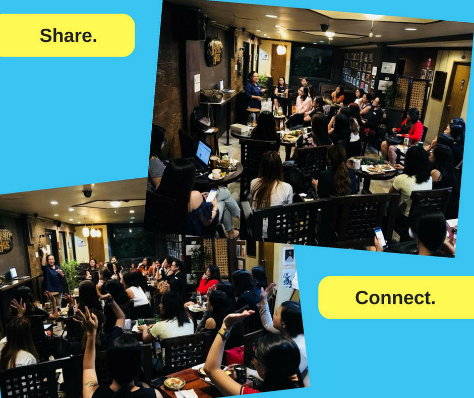 Your vibe attracts your tribe. Thank you, @connectedwomen. #ConnectedWomen Meetup - Cebu (PH) - May 16