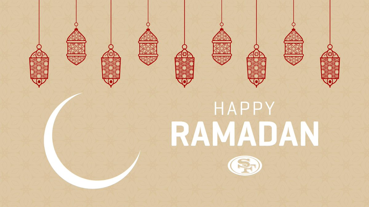 San Francisco 49ers's photo on Ramadan Mubarak
