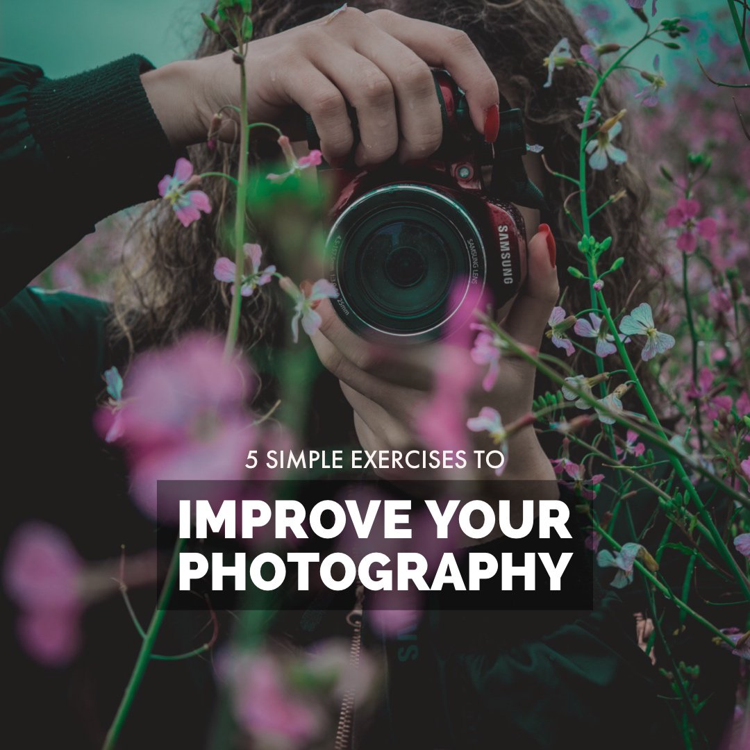 5 Simple Exercises to Improve Your Photography > https://t.co/2tPLtZyFL4 https://t.co/zZGI4jLr0i