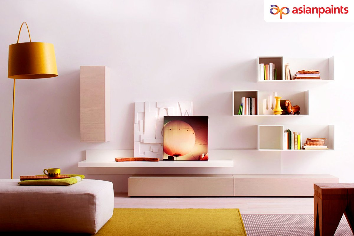 Trying to think of ways to accentuate your living room? A pop of colour is a simple way to give the room a fresh touch.  Give your walls a soothing glow that really makes other colours stand out with the colour Snow Blush.  For more information, visit - https://t.co/MMv9Entj9q https://t.co/gvCicKvRgn