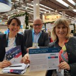 We are proud to have our very own @BarbaraJJamison on the @europeancities marketing board #LondonIsOpen . Come and meet Barbara for a chat on the London stand F400 #IMEX18