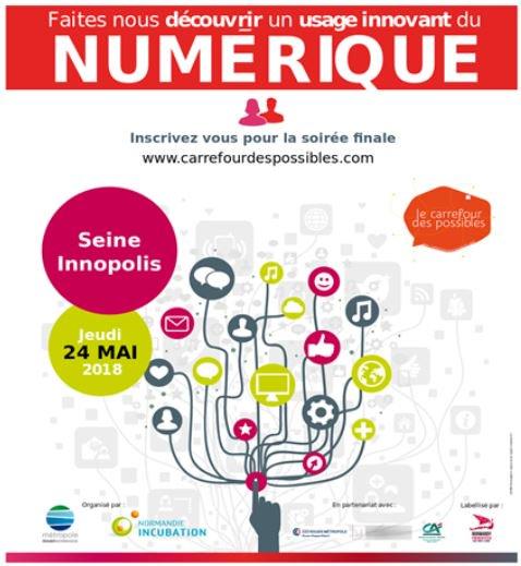 La 8e édition du #CarrefourDesPossibles, c'est dans une semaine ! La cérémonie de clôture se déroulera le 24 mai à…