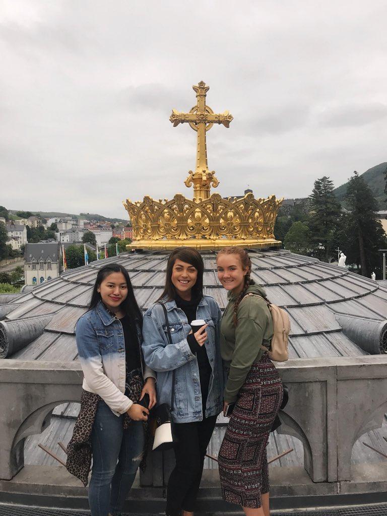 Alanna Roche's photo on #Lourdes