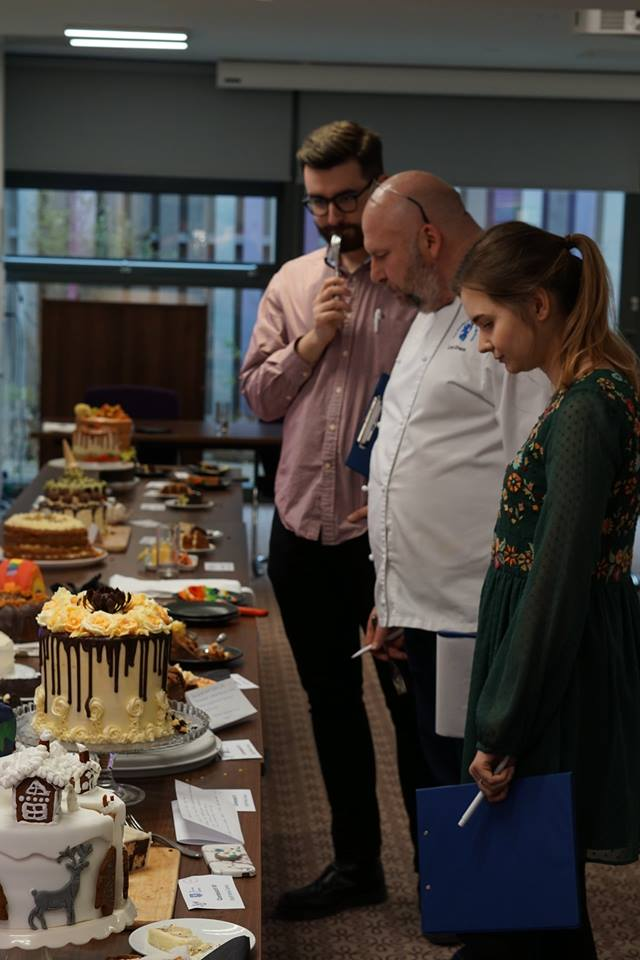 We held the Big University Bake back in February, with staff and students  creating some incredible cakes to raise money for @SheffieldScan.