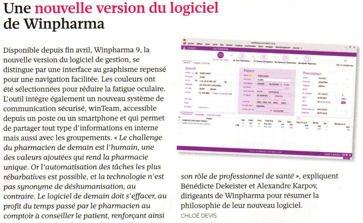 winpharma logiciel