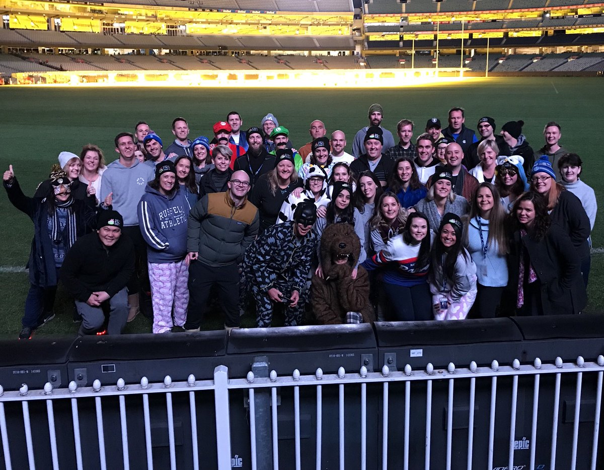 Melbourne cricket club mccmembers twitter team mcc is ready to go for sleepattheg tonight our team has raised more than 55000 for melbcitymission and were not done yet dzzzfo