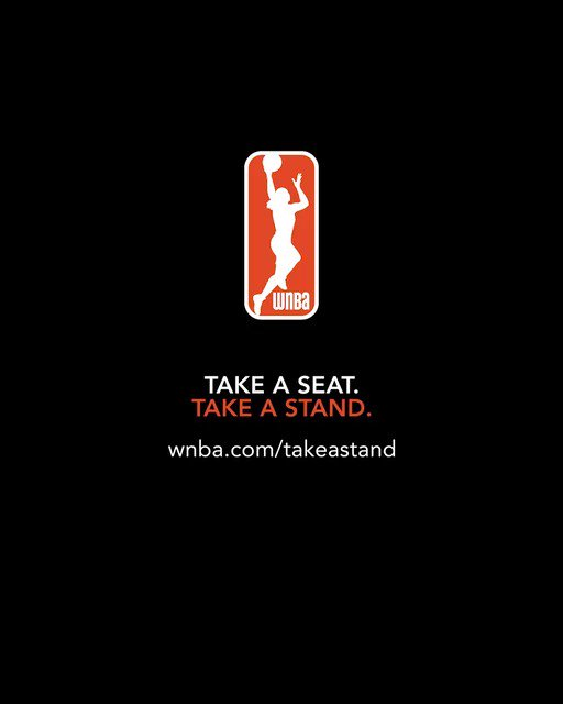 This season, your ticket supports more than womens basketball. It helps change the game for women and girls. WNBA.com/TakeAStand #WNBATakesAStand