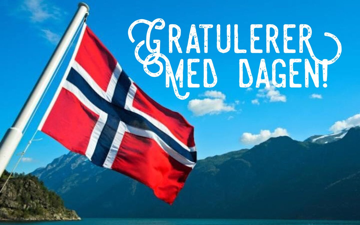 RT Just a hint: If you know any Norwegians, you need to say 'Gratulerer med dagen' to them today. You will get smiles, hugs etc. Because today is #17may, Norway's Big Day    #gratulerermeddagen<br>http://pic.twitter.com/rPNXcJCaEH
