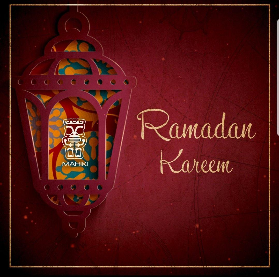 Ramadan Kareem from the Mahiki Family https://t.co/4GcWC2znuw
