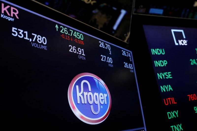U.S grocer Kroger signs deal to use Ocado's home delivery tech https://t.co/seyuLwacmT https://t.co/aMMYn2g1P2