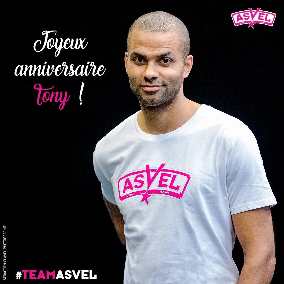 🎉 Bon anniversaire au Président @tonyparker !  #TeamASVEL