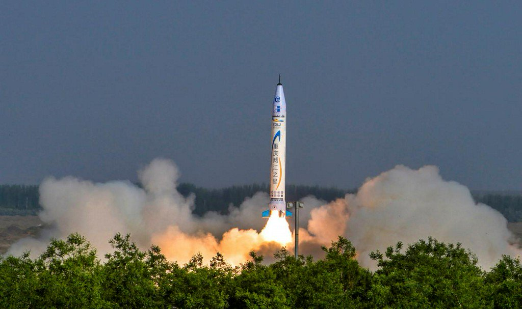 China launches first rocket designed by a private company https://t.co/S8vHk9V8uf https://t.co/jIblvXnAbj