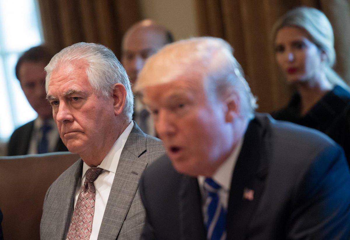 Newsweek's photo on Rex Tillerson