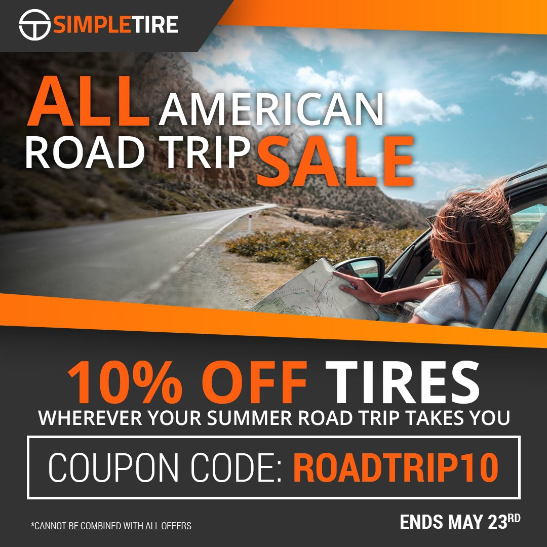 Simpletire Com On Twitter Summer Sale 10 Off Sitewide On Every