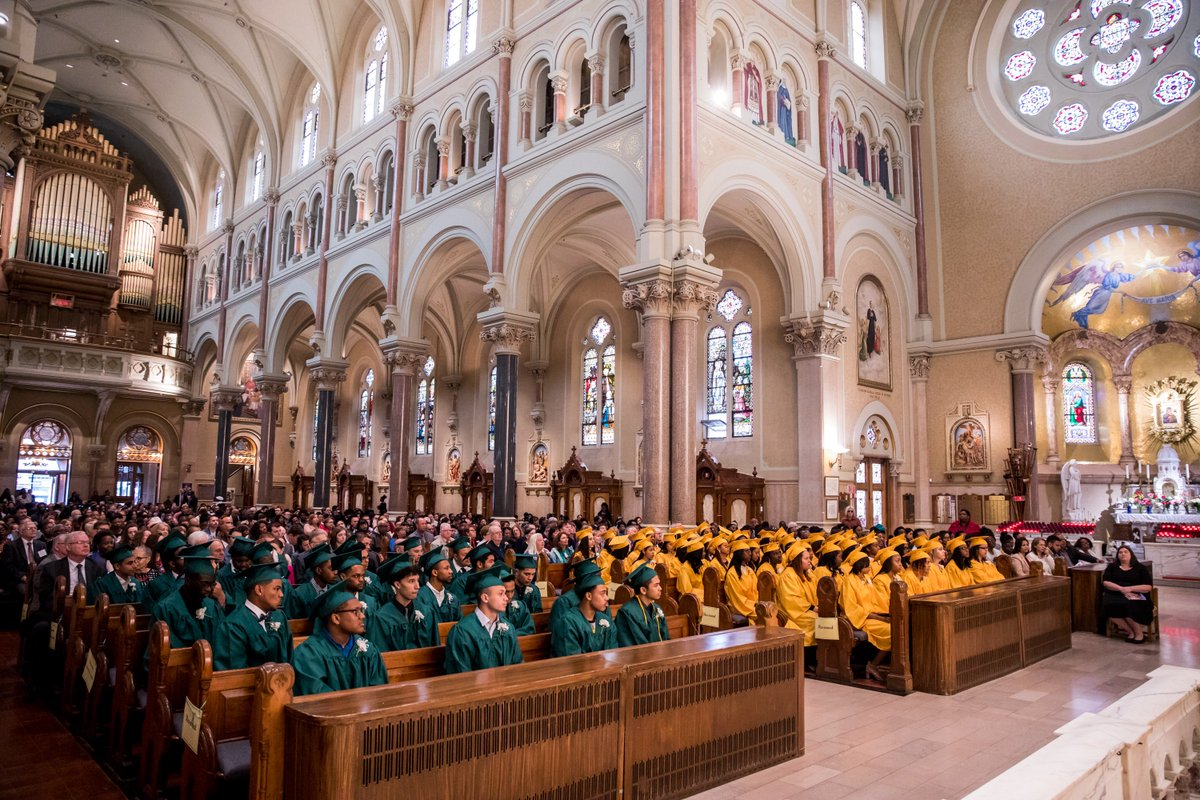 test Twitter Media - Congratulations to our Class of 2018 who graduated Saturday at @BostonsBasilica and became our 15th consecutive class earning 100% graduation and 100% college placement. We are proud of each of you! https://t.co/uGCa332j0t