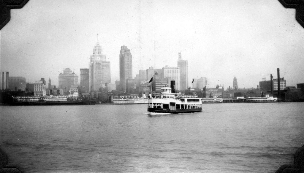 1938: Ferry Service Between Detroit and Windsor Ends