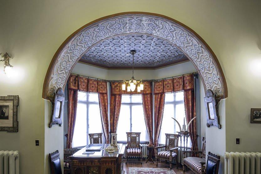 Benim evin en sevdiğim kısmı ise burası: Elçi Kabul Salonu