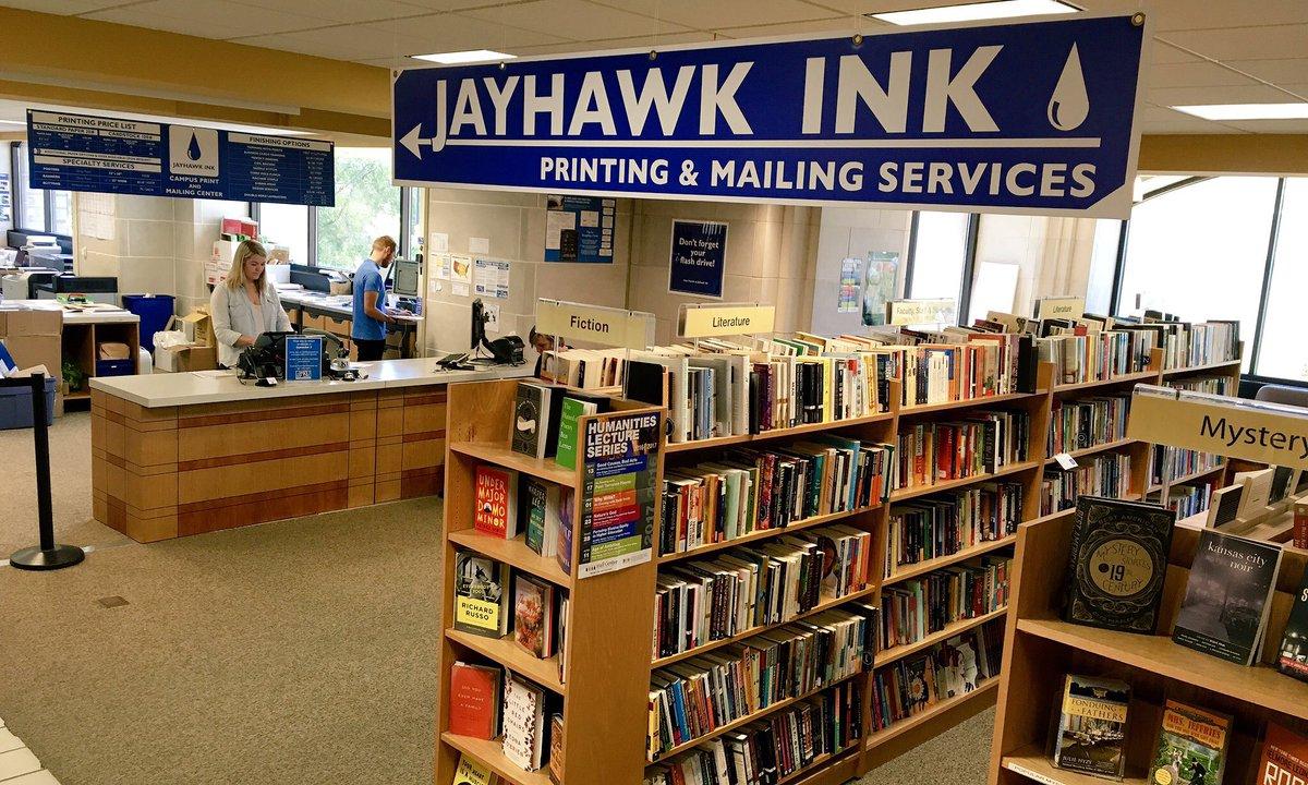 Ku Bookstore On Twitter Don T Forget Jayhawkinkku Is Still Open
