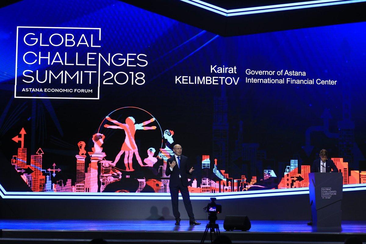 The Governor of the #AIFC Kairat Kelimbetov made a keynote presentation &quot;Understanding Kazakhstan&quot; at the @Forum_Astana  #AstanaEconomicForum #аэф2018 #aef2018 #ForumAstana #GlobalChallengesSummit #GlobalChallengesSummit2018 #AIFC #GlobalChallenges<br>http://pic.twitter.com/3stXiu0zgB