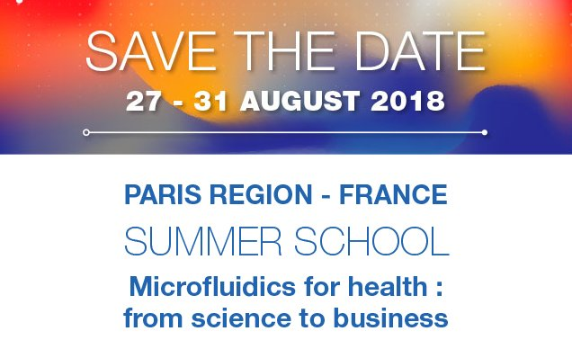 Join the #summerschool #microfluidics in Paris with KOL @frenchtech initiative.easi.parisregion.info/save-the-date/…